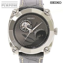 Seiko Galante Stahl 45mm Grau