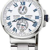 Ulysse Nardin Titanium Automatic White new Marine Chronometer Manufacture