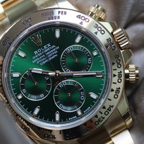 Rolex Daytona full gold green dial 2017
