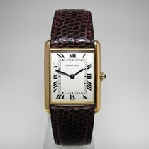 Cartier Tank (submodel) Yellow gold Roman numerals