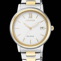 Citizen LADY Eco Drive,32mm.Bicolor Steel/Gold. FE6094-84A