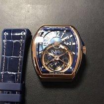Franck Muller Rose gold 53,7mm Manual winding Franck Muller V 45 T GR CS YACHT (BL) new