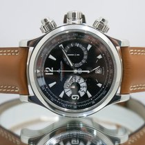 Jaeger-LeCoultre Chronograph 41mm Automatic 2009 pre-owned Master Compressor Chronograph Black