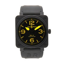 Bell & Ross 46mm Automatic pre-owned BR 01-92 Black
