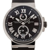 Ulysse Nardin Marine Chronometer Manufacture Сталь 45mm Чёрный