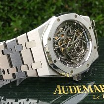 Audemars Piguet Royal Oak Selfwinding Steel 39mm Transparent No numerals United States of America, California, Costa Mesa