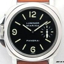 Panerai Luminor Marina Stahl 44mm Schwarz Arabisch