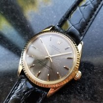 Rolex Oyster Perpetual Aur galben 34mm Auriu