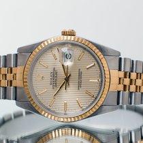 Rolex Datejust подержанные 36mm Cеребро Дата Золото/Сталь