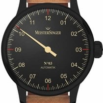 Meistersinger Steel 43mm Automatic AM902BL new United States of America, Florida, Naples