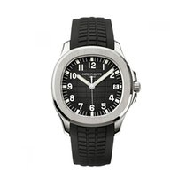 Patek Philippe Steel Automatic Black Arabic numerals 40mm new Aquanaut
