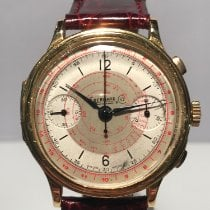 Eberhard & Co. Yellow gold Manual winding 39mm pre-owned