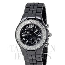 Technomarine TechnoDiamond Ceramica 40mm Negru Arabic
