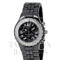 Technomarine TechnoDiamond Cerâmica 40mm Preto Árabes