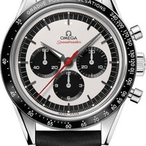 歐米茄 Speedmaster Professional Moonwatch 鋼 39.7mm 銀色 無數字