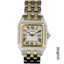 C.H. Wolf pre-owned Quartz 30mm White Sapphire crystal