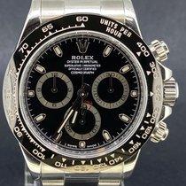 Rolex Daytona Acier 40mm Noir Sans chiffres