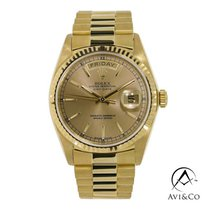 Rolex Day-Date 36 Yellow gold 36mm Champagne No numerals United States of America, New York, New York