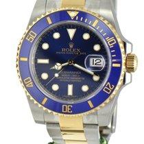 Rolex 116613blu twotone Submariner Ceramic Blue Dial