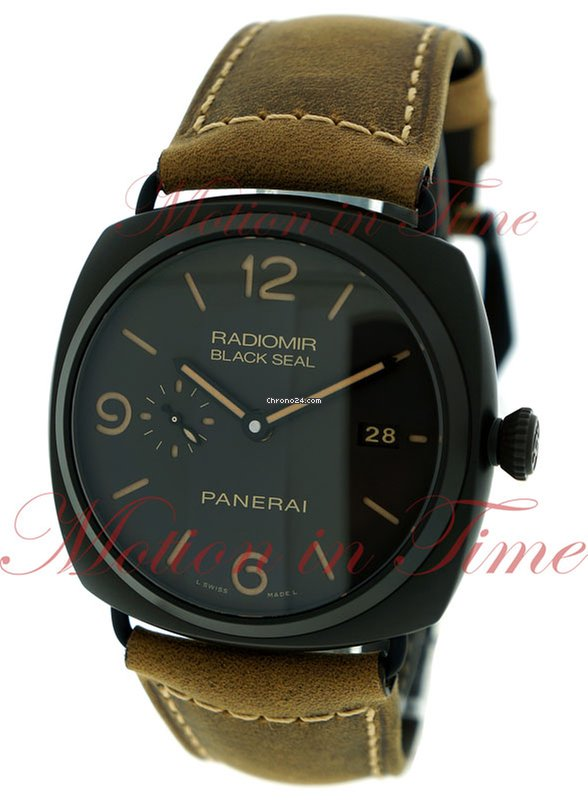 fb910edf554 Pre-owned Panerai Radiomir Black Seal 3 Days Automatic