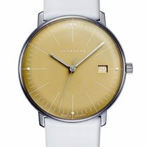 Junghans max bill Ladies Steel 32.7mm Champagne No numerals
