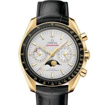 Omega Oro amarillo Automático 44.25mm nuevo Speedmaster Professional Moonwatch Moonphase