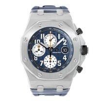 Audemars Piguet Royal Oak Offshore Chronograph Navy Blue Dial...