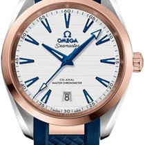 Omega Seamaster Aqua Terra Gold/Steel 38mm Silver United States of America, New York, Airmont