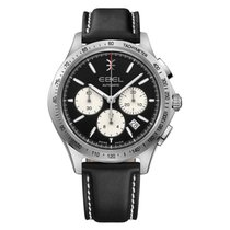 Ebel Sportwave 1216404  EBEL WAVE Chronograph Automatic steel Special Offer 2020 new