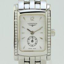 Λονζίν (Longines) Dolce Vita Genuine Diamonds Quartz Steel Lady