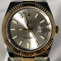 Rolex Datejust 41 steel/yellow gold oyster 126333