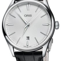 Oris Artelier Date Steel 40mm Silver United States of America, New York, Airmont