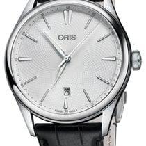 Oris Steel Automatic Silver 40mm new Artelier Date