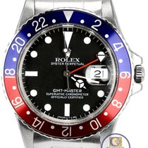 Rolex 1981 Rolex GMT-Master Pepsi Blue Red Stainless Matte...