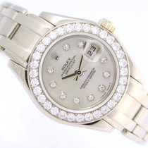 Rolex Datejust Pearlmaster 18k White Gold & Diamonds 1,40ct  &...