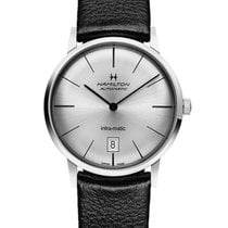 Hamilton Intra-Matic Zeljezo 38mm Srebro