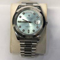 Rolex Day-Date II ice blue Diamond dial