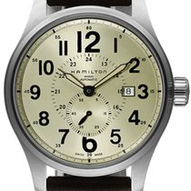 Hamilton Khaki Field Officer Steel 44mm Champagne