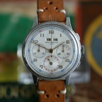Baume & Mercier Chronograph 37,5mm Manual winding 1950 pre-owned White