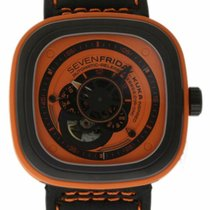Sevenfriday P1-3 Steel 47mm Orange United States of America, Florida, 33132
