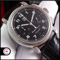 TAG Heuer Targa Florio Steel 40mm Black Arabic numerals