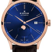 Edox Les Vauberts Steel 42mm Blue