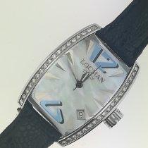 洛克曼  钢 石英 Locman Panorama Ref. 151  acciaio e Diamanti 全新