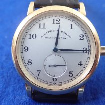 A. Lange & Söhne 1815 Yellow gold 36mm Silver Arabic numerals