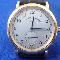 A. Lange & Söhne 206.021 Gelbgold 1997 1815 36mm gebraucht Deutschland, Hannover