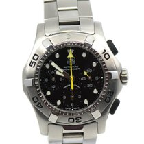 TAG Heuer Aquagraph Steel 43mm Black No numerals United States of America, New York, New York