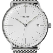 Junghans max bill Automatic Steel 38mm Silver No numerals United States of America, Texas, FRISCO
