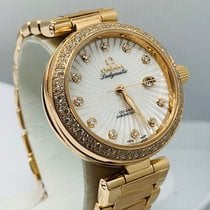 Omega De Ville Ladymatic Or rose 34mm Brun