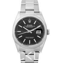 Rolex Datejust Witgoud 36mm Zwart