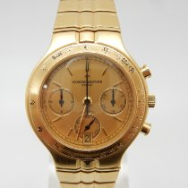 Vacheron Constantin Traditionnelle Yellow gold 35mm Gold No numerals